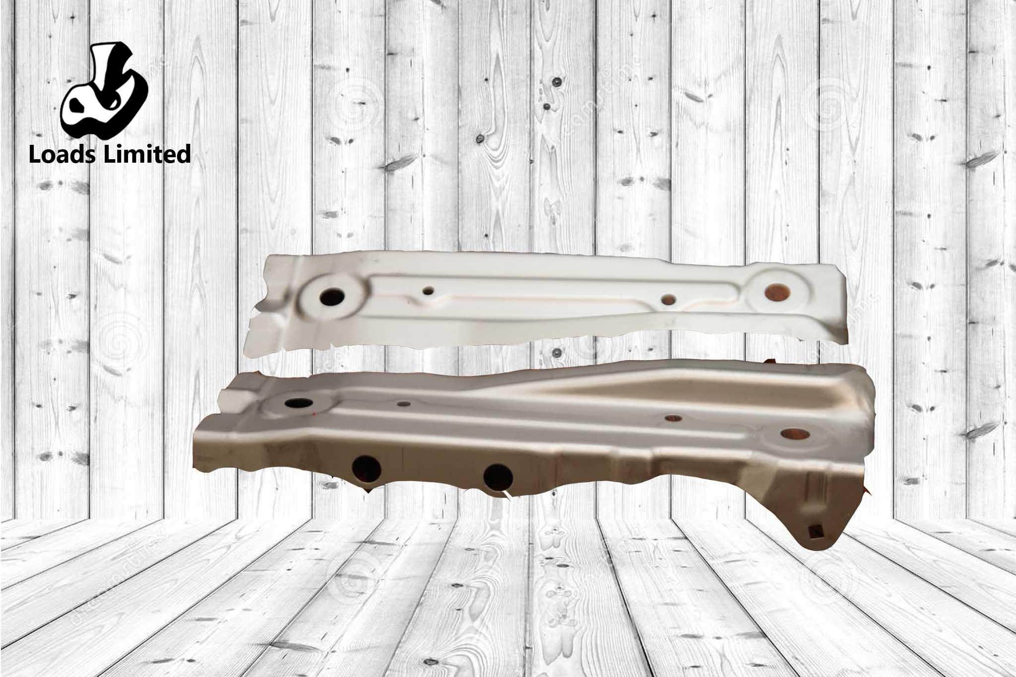 PLATE R/L, FR BHD SIDE STAY Size: JSC270C 0.6mm
