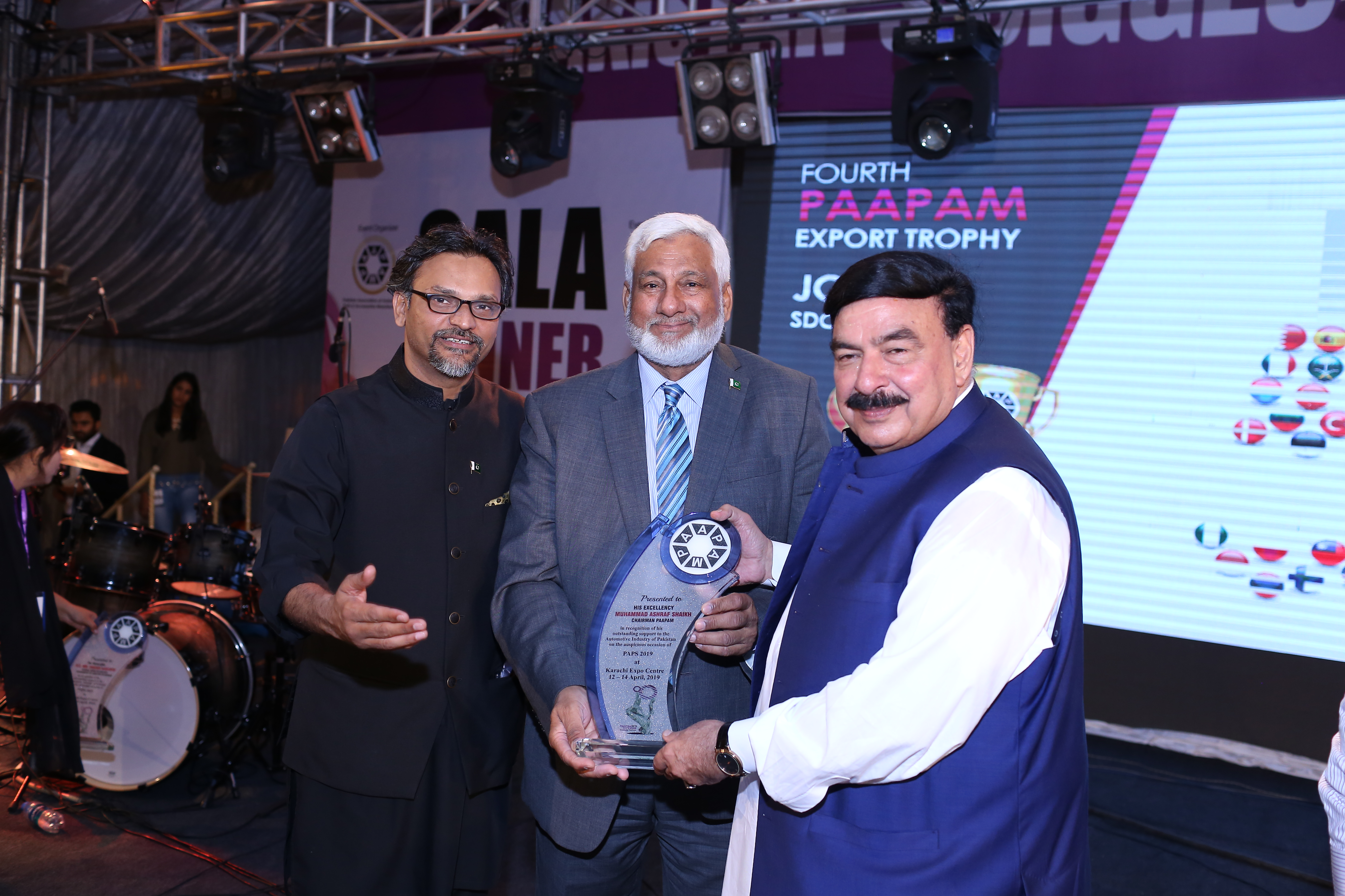 Shaikh Rasheed - Federal Minister for Railways Paps 2019