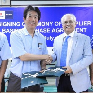 Signing Ceremony of Supplier basic Purchase Agreement 26th & 27th July 2018