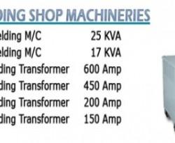 Welding shopmachineries