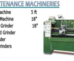 maintenance machineries