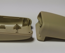 Precised moulding parts