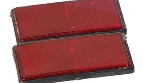 Bicycle Carrier Reflector
