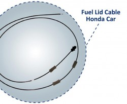 Fuel Lid Cable Honda Car