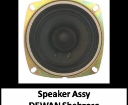 Speaker Assy Shehzore