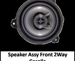 Speaker Assy Front 2 Way