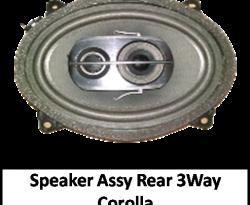 Speaker Assy Package Tray 3 Way