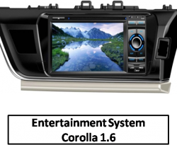 Integrated DVD System Corolla 1.6