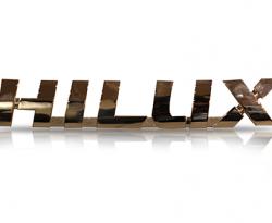 Emblem Hillux