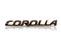 Emblem Corolla
