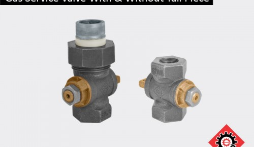 Gas Service Valve With Without Tail Piece
