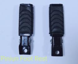 Piniun foot rest