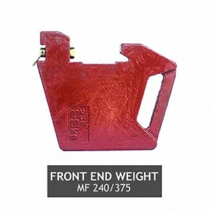 FRONT END WEIGHT MF 240 375