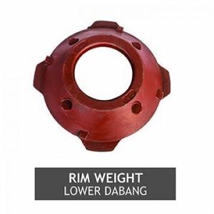 RIM WEIGHT LOWER DABANG