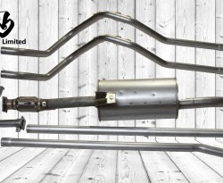 PIPE S/A EXHAUST CTR/ PIPE S/A EXHAUST TAIL