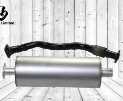MUFFLER SUB ASSEMBLY/ PIPE S/A EXHAUST