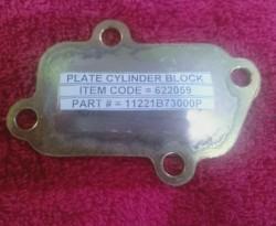 Plate Cylinder Block (STV/R)