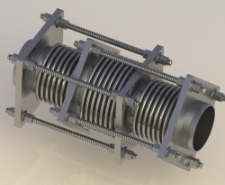 In Line Pressure Expansion Joint