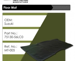 Floormat SF CNC cultus